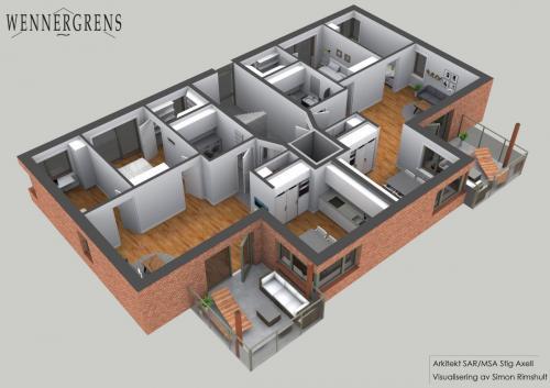 hus4 plan2 perspektiv