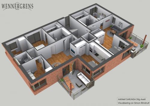 hus6 plan2 perspektiv