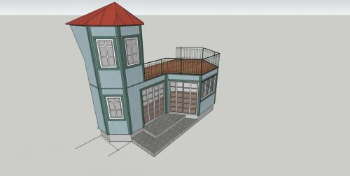 marias utbyggnad torn:trapphus mindretrappa